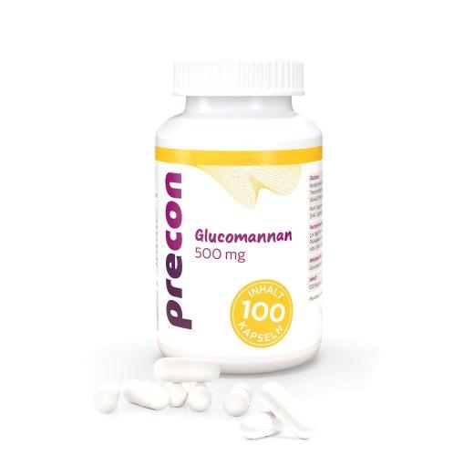 Glucomannano 500 capsule