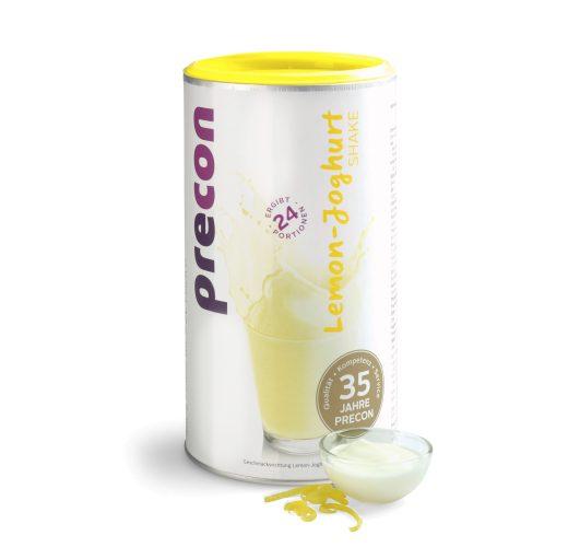 Shake allo yogurt al limone